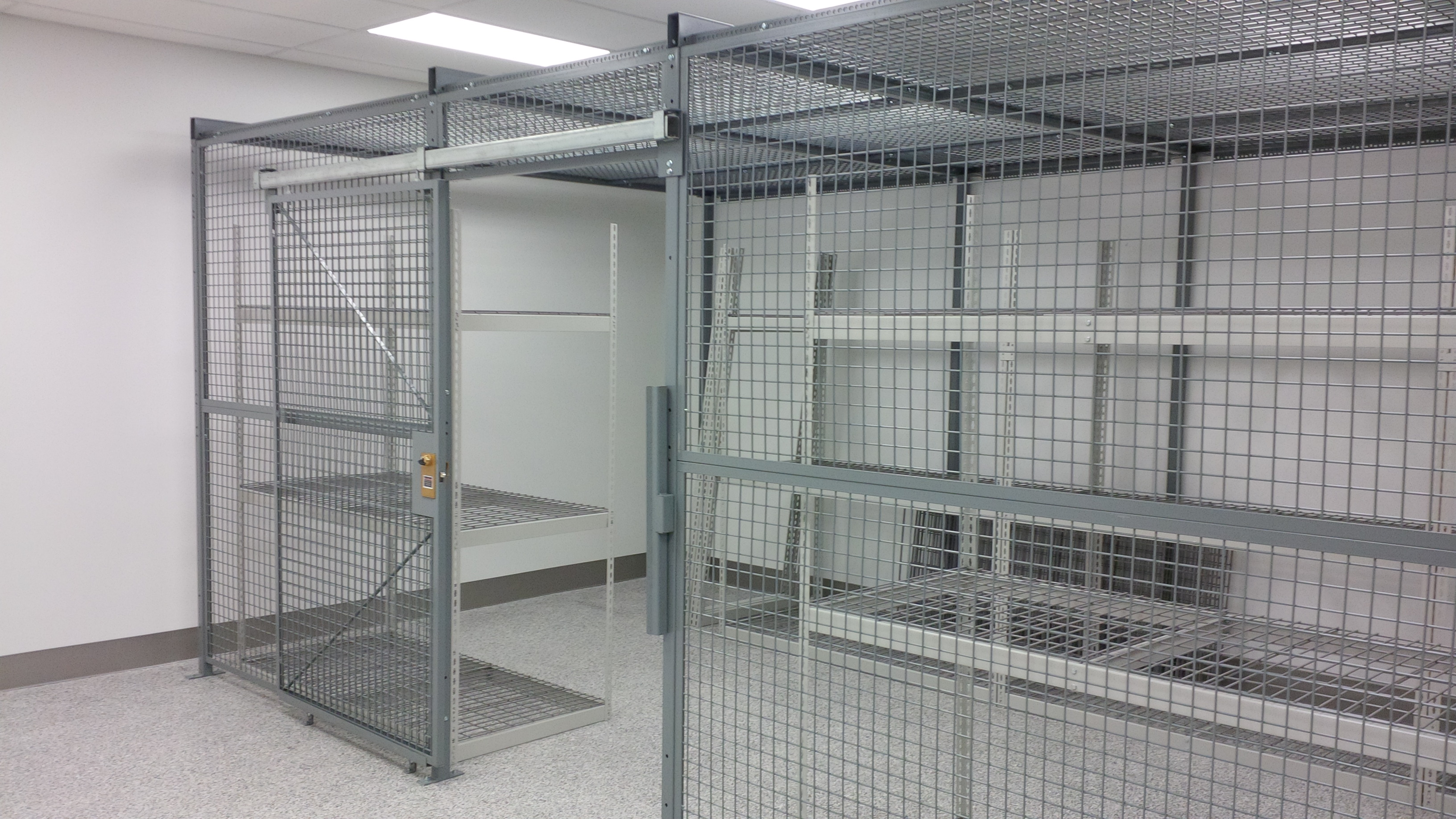 Fencing for Tool Cribs, OSHA Guards, Wire Racks Storage and More