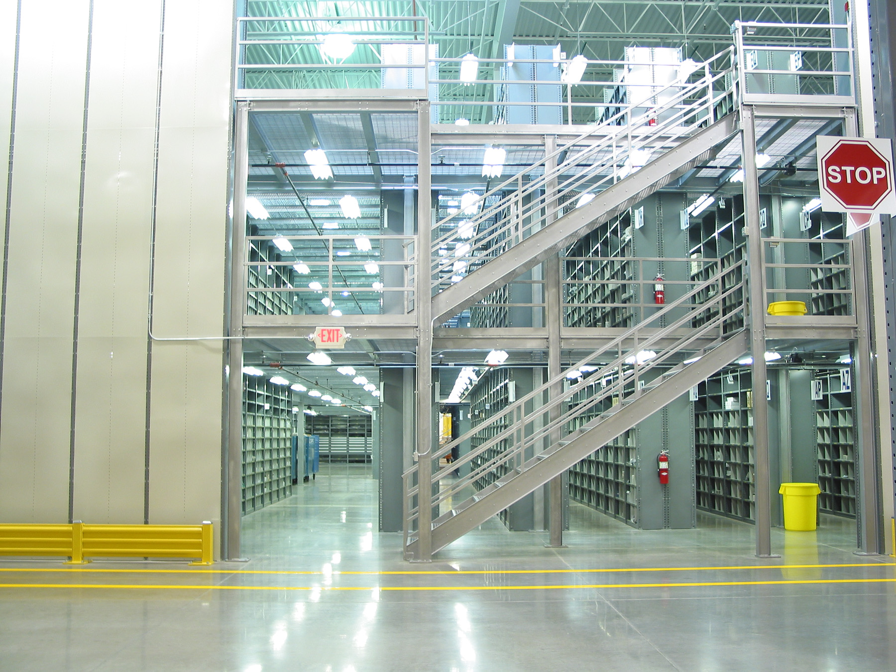 Secure Mezzanines - Increase Storage Capacity Fast. Fast Warehouse Space Maker