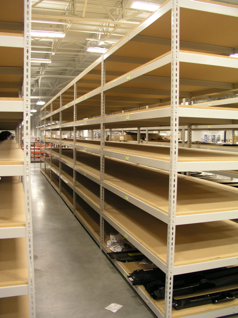 Shleving units maximize space and warehouse efficiency with industrial warehouse storage systems from Tyler Supply.