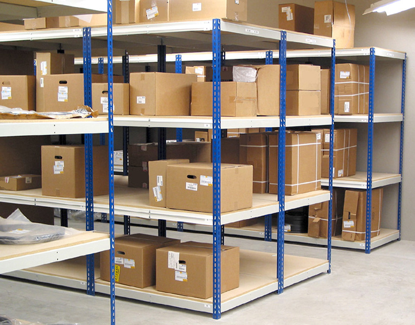 Retail Stockroom Shelving by Tyler Supply - Designed to provide highly efficient storage of stock for retail stores for inventory.
