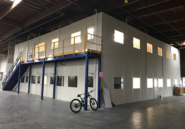 Customized Modular Offices Inside Warehouses and Factories - Build To Last