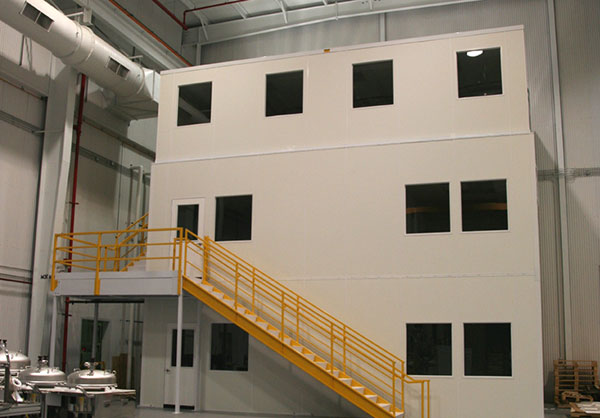 Modular Offices By Tyler Supply - maximize storage space in industrial environments.