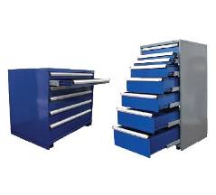 Multiple Drawer or Single Drawer access units. (Single drawer units provide an anti-tilt feature)